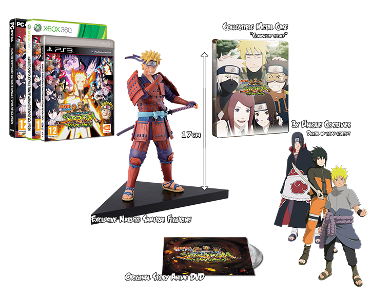 Get it now! Naruto Shippuden: Ultimate Ninja Storm Revolution - Samurai Edition