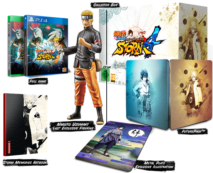 Get it now! Naruto Shippuden: Ultimate Ninja Storm 4 - Collector's Edition