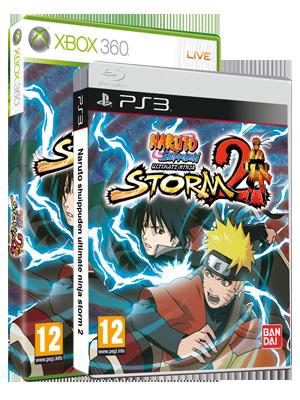 Naruto Shippuden: Ultimate Ninja Storm 2 packshot