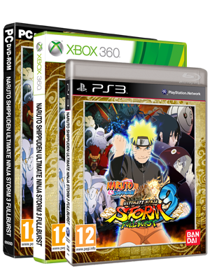 Naruto Shippuden: Ultimate Ninja Storm 3 FULL BURST packshot